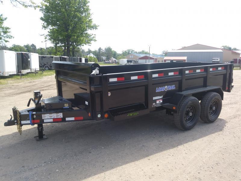 New Load Trail 14' 14K Dump Trailer Michigan's #1 selling brand of trailers.