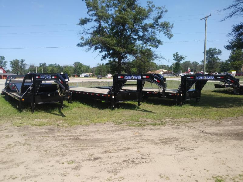 "2019 Load Trail 102"" X 32' 22K Tandem Low-pro Gooseneck Equipment Trailer"
