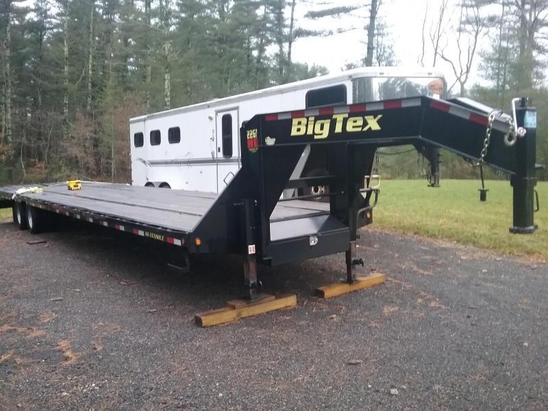 2016 Big Tex Trailers  40ft DT GN Flatbed Flatbed Trailer