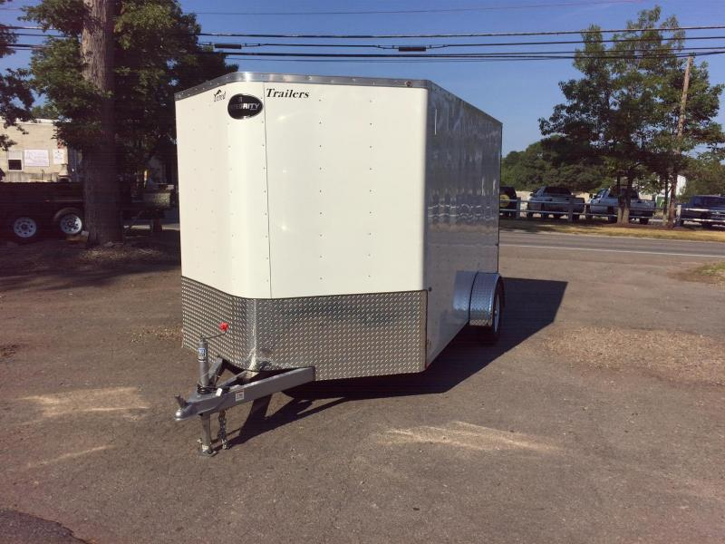 2018 Integrity Trailers Enclosed Bike Trailer 7x12 Motorcycle Trailer