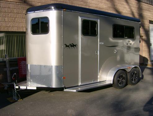 2016 Cotner Trailers Inc. Royal Horse Trailer