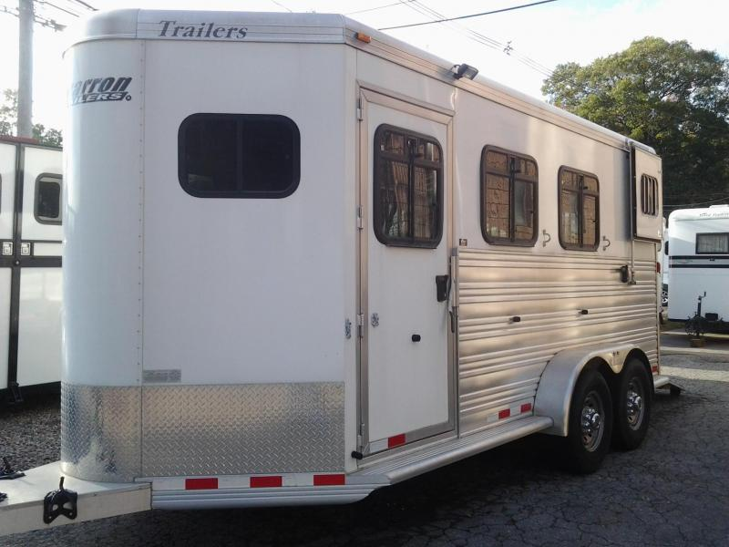 2012 Cimarron Trailers 3 H BP Slant Horse Trailer