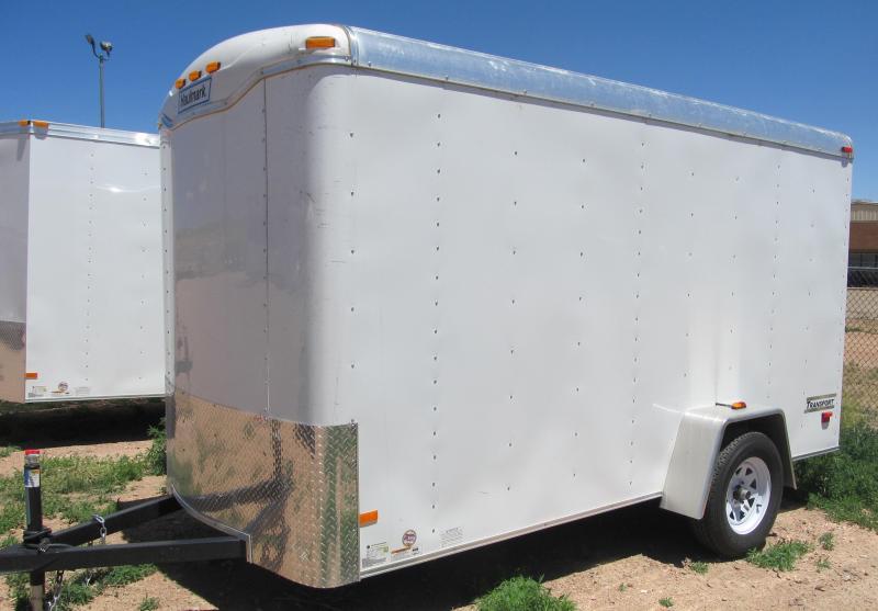 2017 Haulmark Transport 6X12 Enclosed Cargo Trailer