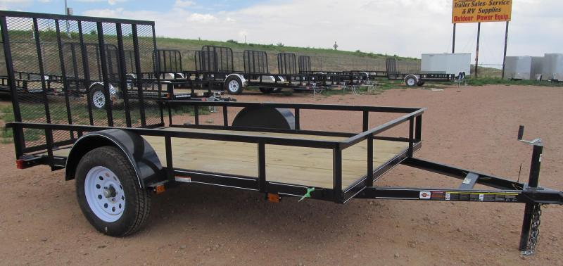 Utility trailers true value trailers new and used for Wood floor utility trailer