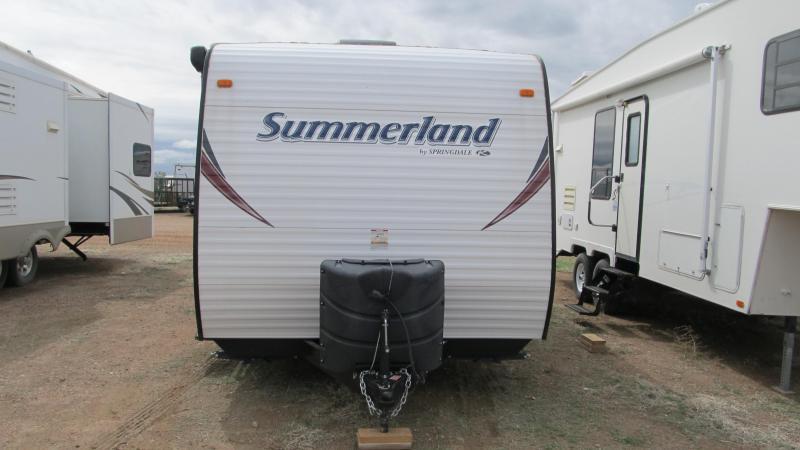 2015 Keystone RV Summer Land M1890FL Enclosed Cargo Trailer