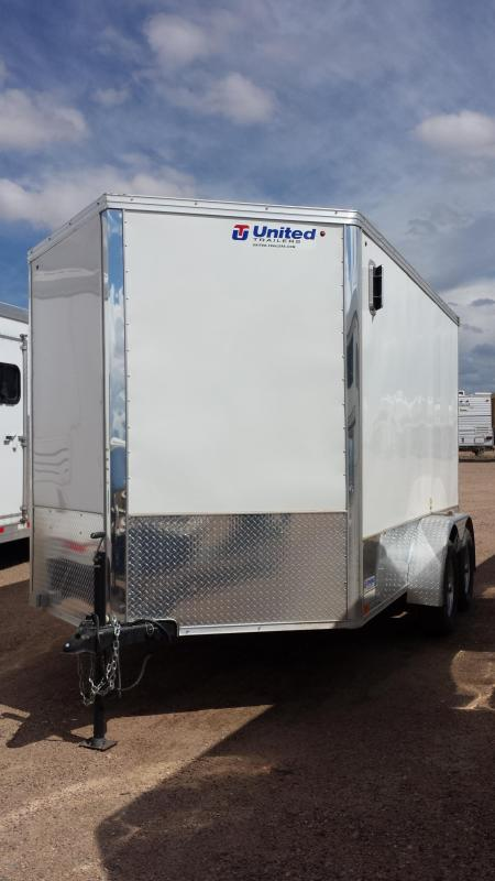2013 United Trailers Enclosed Trailer
