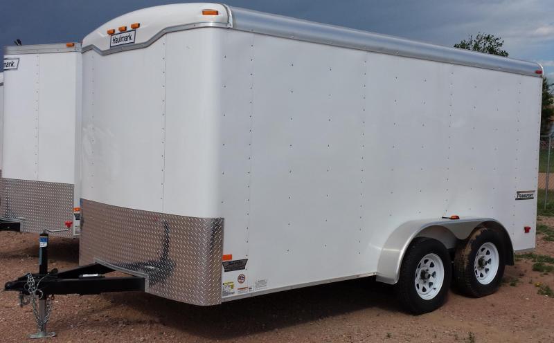 2016 Haulmark Transport 7X14 Enclosed Cargo Trailer