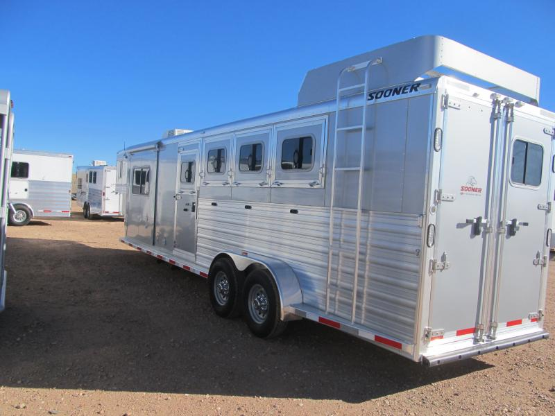 2013 Sooner Frontier 4 Horse Trailer with Living Quarters