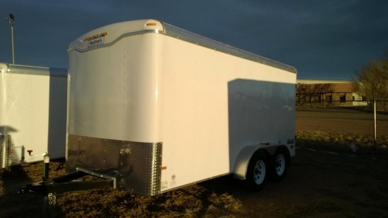 2013 Haulmark Transport 16'x7' Enclosed Trailer