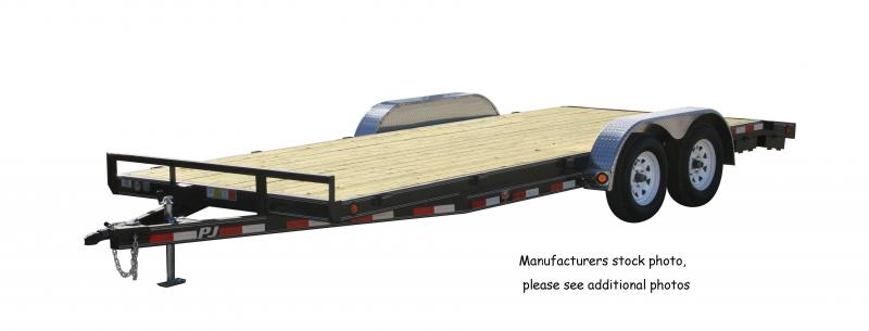 2015 PJ Trailers 16' Equipment Trailer