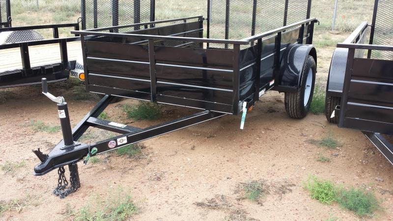 2016 Carry-On 5X8SSG - Solid Side Utility Trailer