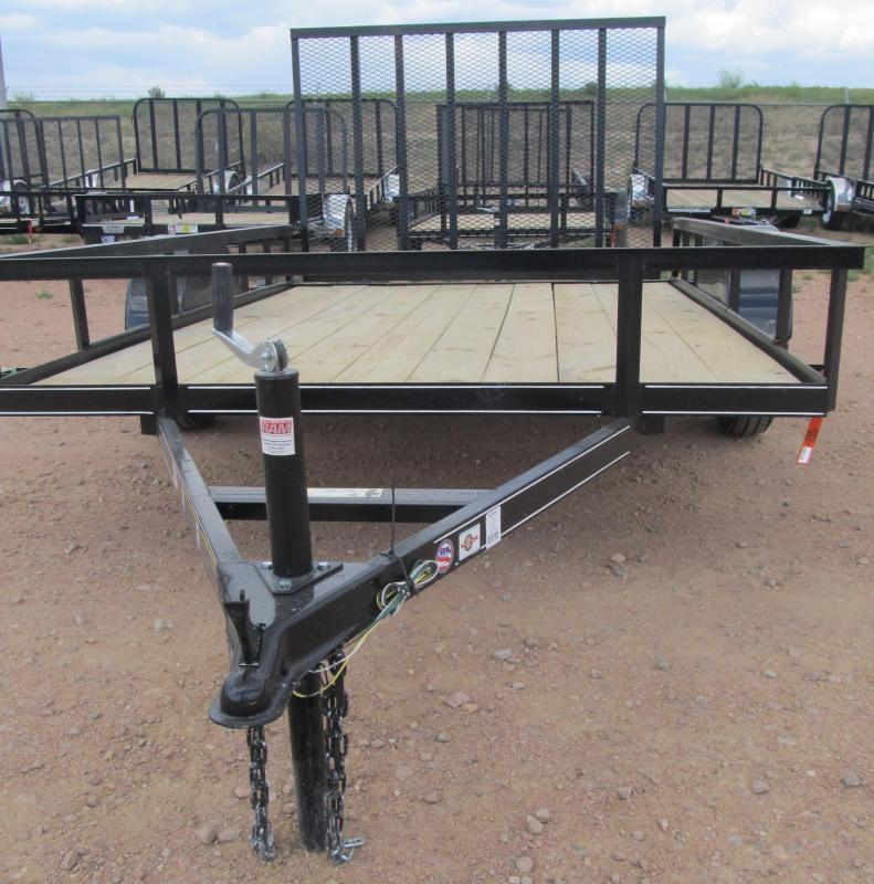 2014 10' Carry-On Utility Trailer