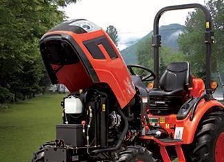 2017 Kioti CK2510 HST Tractor With Loader