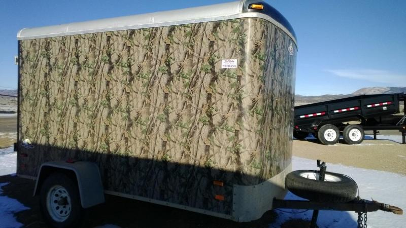2008 North American 10' Cargo Trailer
