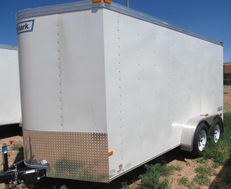 2015 14' Haulmark Transport Enclosed Trailer