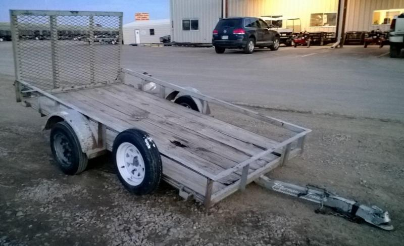 2000 Performance Trailers 4x9 Utility Trailer