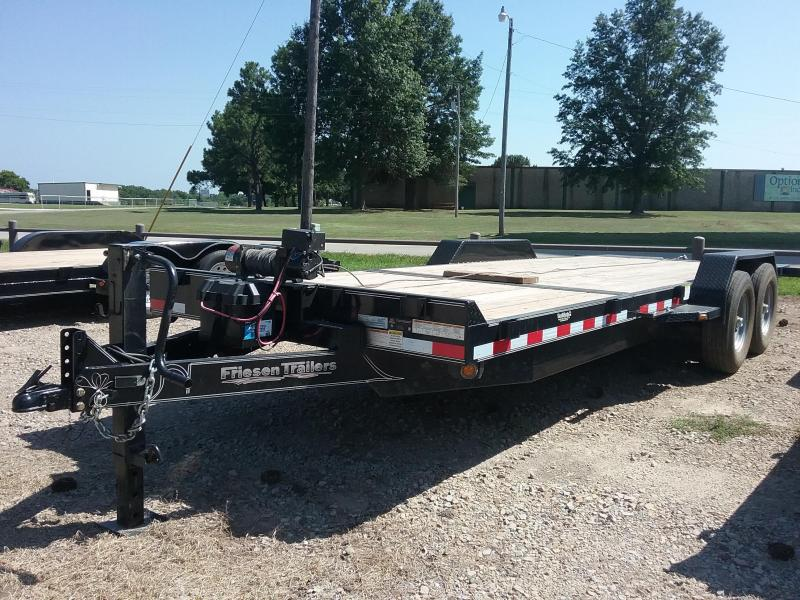 2018 Friesen Trailers GT148322 Equipment Trailer