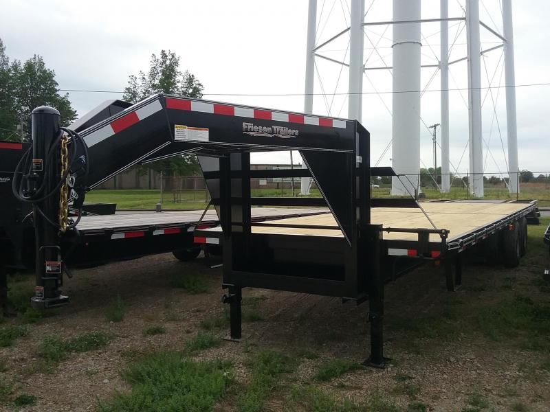 2019 Friesen Trailers GND2410232 Flatbed Trailer