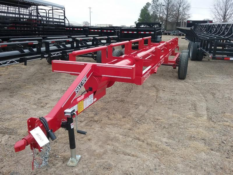 2018 May Trailers 4 Bale Hay Trailer