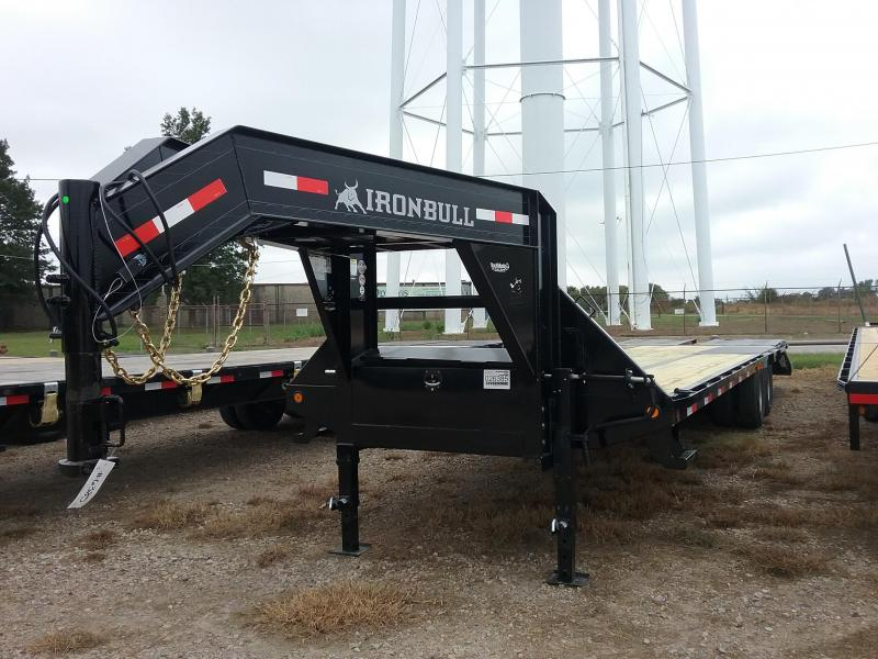 2019 Iron Bull FLG0230102 Equipment Trailer