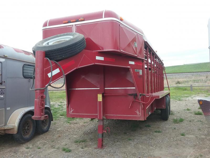 1994 Coose Used Livestock Trailer