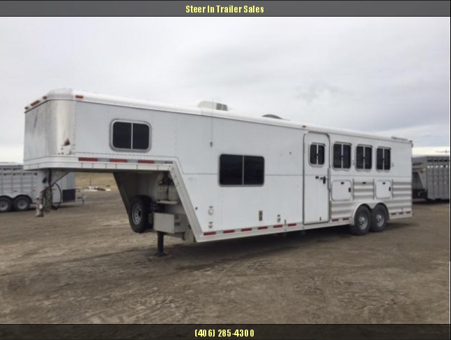 2009 Featherlite 8581 LQ 4 Horse Trailer