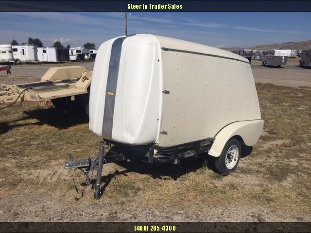 2005 Snowbear 5x8 Enclosed Cargo Trailer