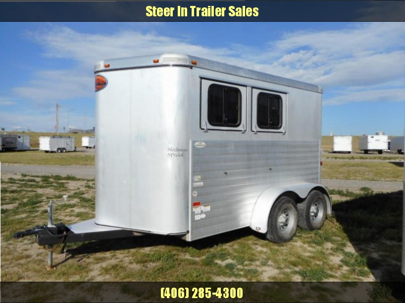 2012 Sundowner 2H Stockman Special Horse Trailer