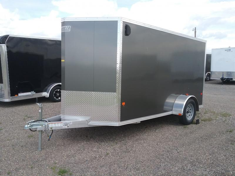2017 Polaris PC6X12-IF Enclosed Cargo Trailer