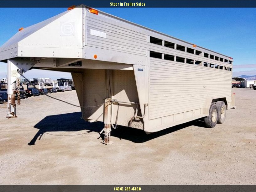 1994 Barrett Trailers 20 Stock Trailer
