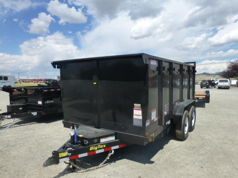 2018 Big Tex Trailers 14LX-4SIDE Dump Trailer