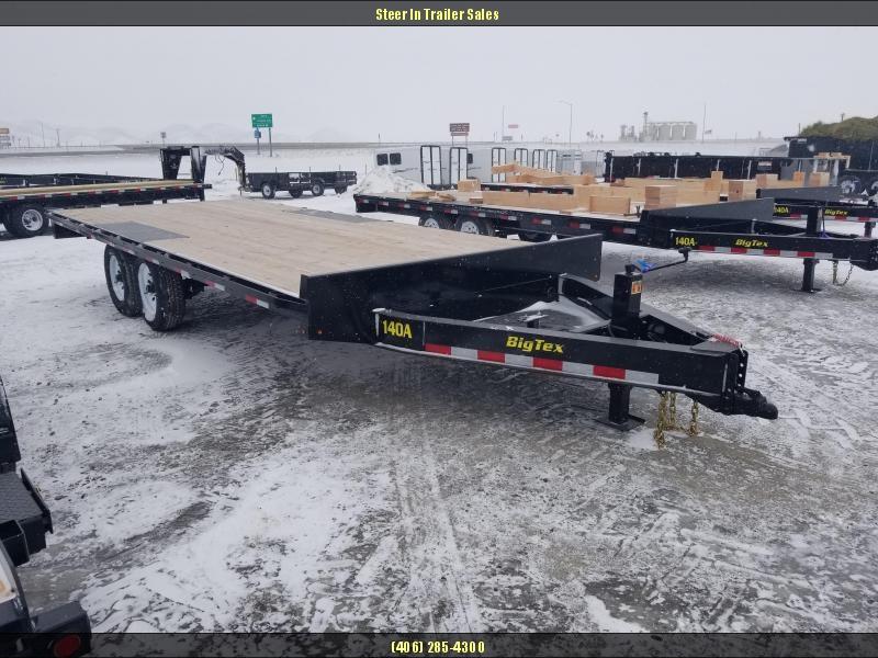 2018 Big Tex 14OA-20 Flatbed Trailer
