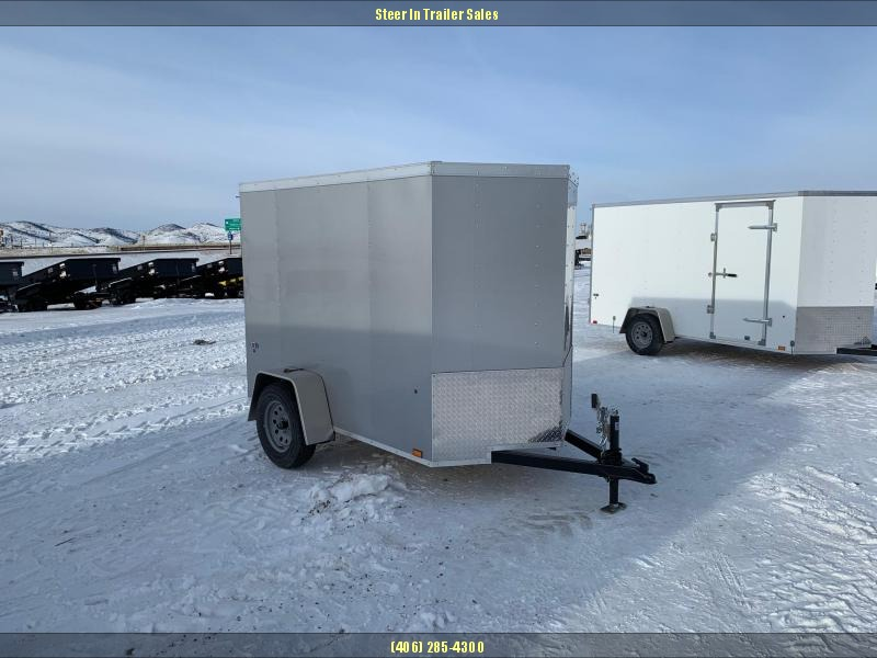2019 Look 5 x 8 Enclosed Cargo Trailer