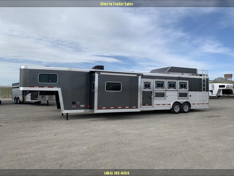 2019 Logan 814 Limited Living Quarters Horse Trailer