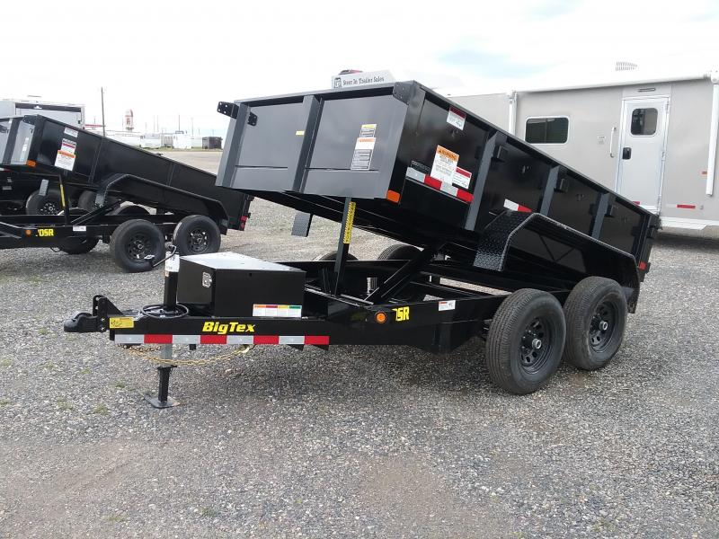 2019 Big Tex Trailers 90SR-10BK7SIR Dump Trailer