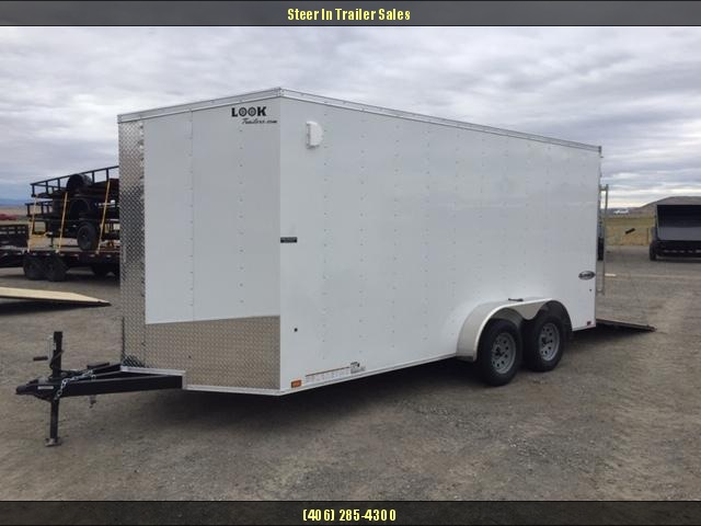 2019 Look 7 X 16 Enclosed Cargo Trailer