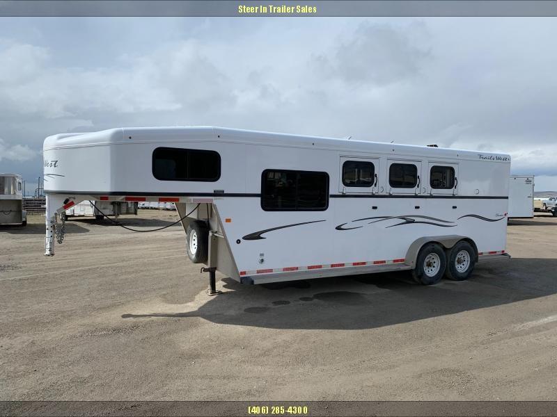 2014 Trails West  3H CLASSIC GN Horse Trailer