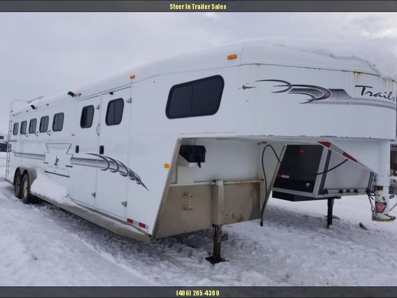 2003 Trails West 5H Sierra Horse Trailer
