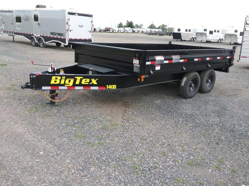 2019 Big Tex Trailers 14OD Dump Trailer