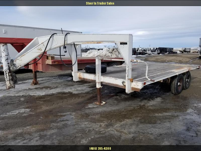 1995 Homemade 16 Flatbed Equipment Trailer