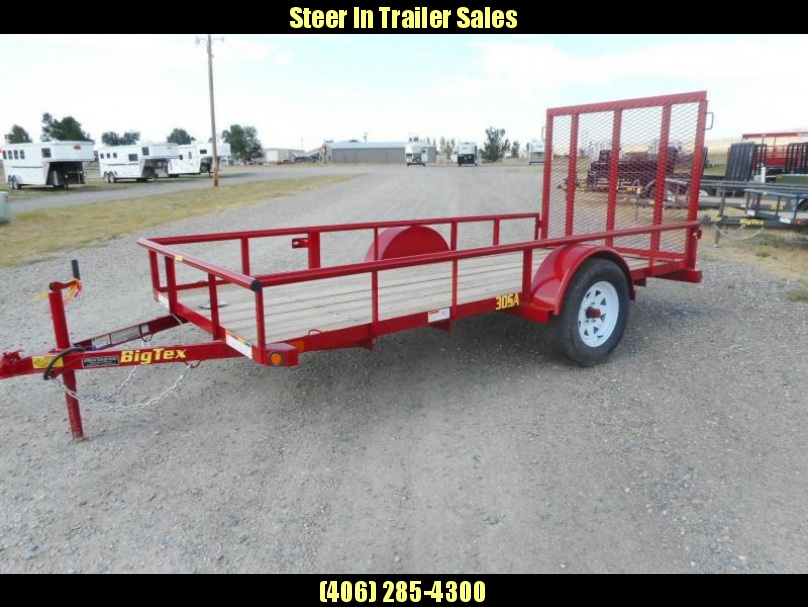 2017 Big Tex 30SA-12 Utility Trailer