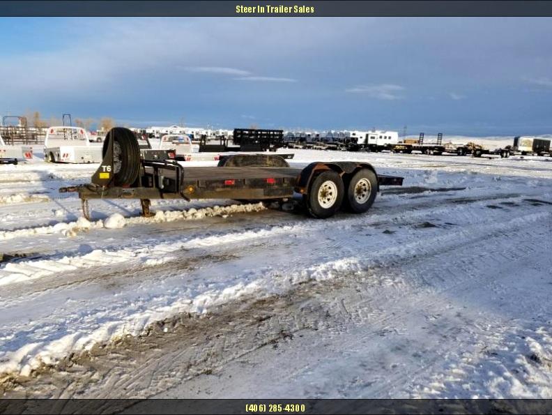 2000 Load Trail CP07 Carhauler 83 x 16