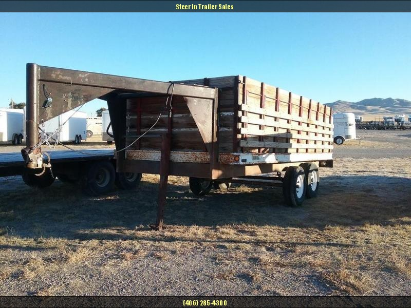 1973 Homemade Grain Trailer