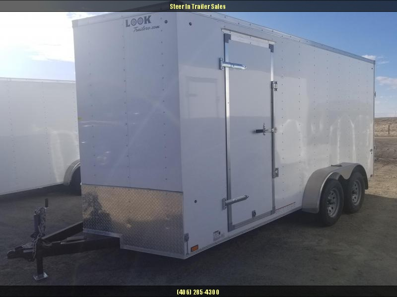 2019 Look 7X16 Enclosed Cargo Trailer