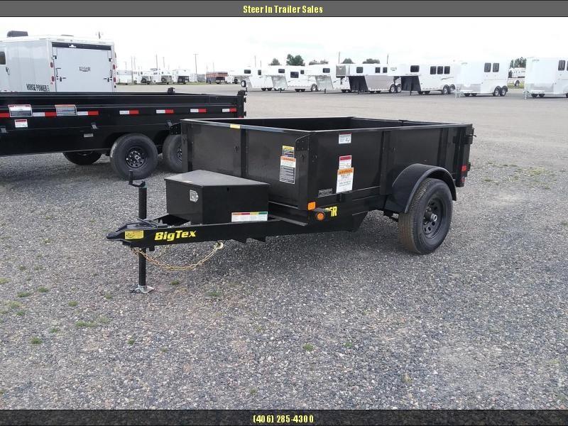 2019 Big Tex 50SR  8X5 Dump Trailer