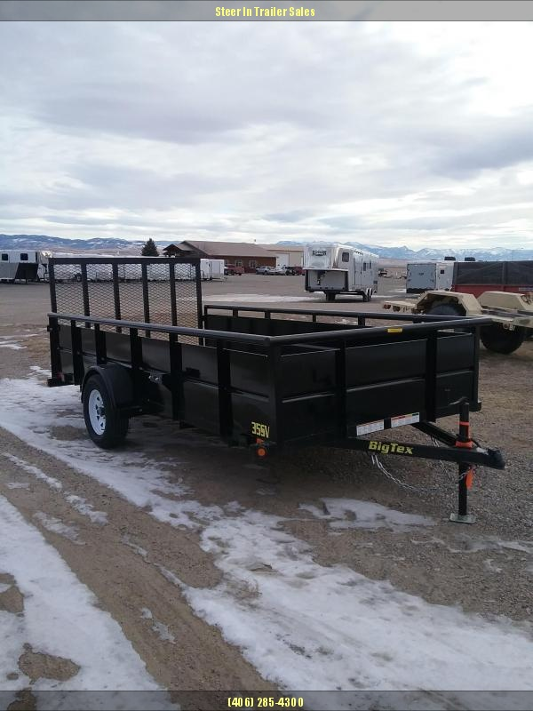 2018 Big Tex 35SV-14 Utility Trailer