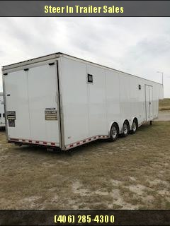 2014 Bravo 8.5x32 Enclosed GN Trailer