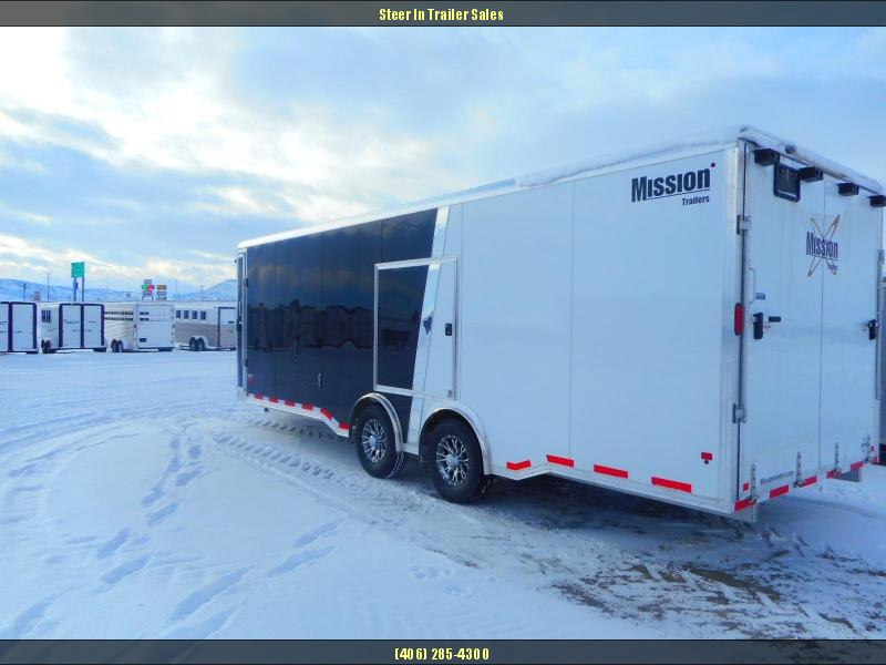 2018 Mission 8X24 EXTREME WEATHER ALL SPORT PKG Snowmobile Trailer
