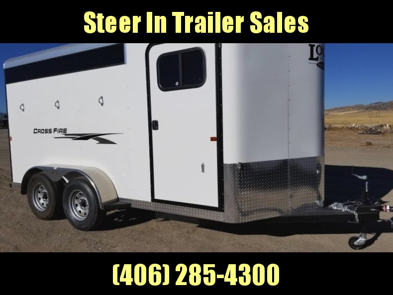 2018 Logan Coach 3H BP Crossfire Horse Trailer