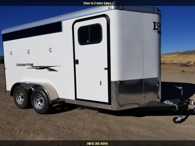 2018 Logan Coach 3H BP Crossfire Horse Trailer